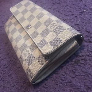 Louis Vuitton Damien Azur Wallet